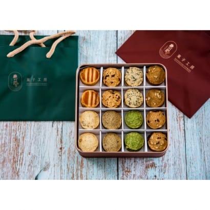 玫瑰金鐵盒餅乾