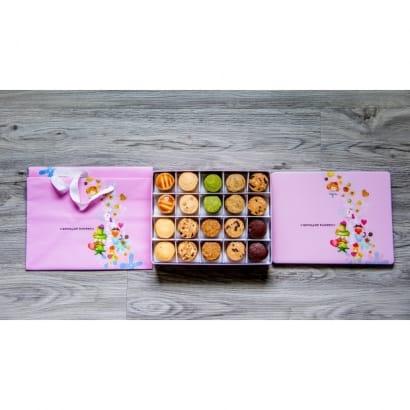 粉紅馬口鐵盒
